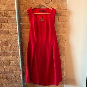 Limited - Cocktail Dress size 12 - CBR Outback Red